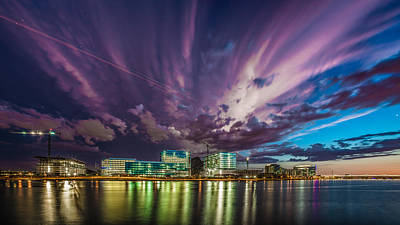 Photograph - Storm Over Tempe Town Lake by Mark Spomer