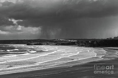 Photograph - Storm  Over The Bay by Nicholas Burningham