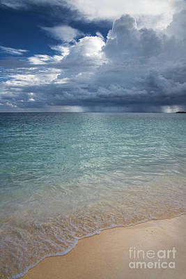 Art Print featuring the photograph Storm Over The Caribbean Sea by Yuri Santin