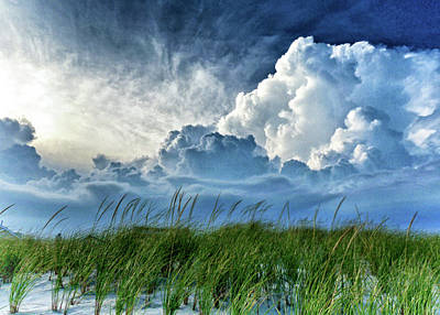 Photograph - Storm Over The Dunes by Carolyn Derstine