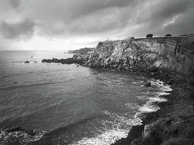 Photograph - Storm Over The Eastern Shoreline Of Angra Do Heroismo Terceira by Kelly Hazel