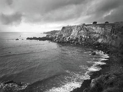Photograph - Storm Over The Eastern Shoreline Of Angra Do Heroismo Terceira by Kelly Hazel