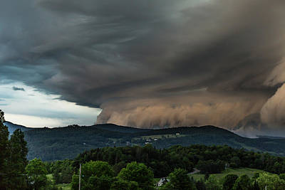 Photograph - Storm Over The Hills by Tim Kirchoff