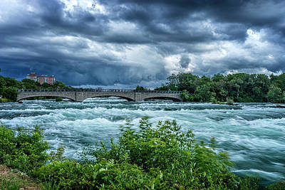 Photograph - Storm Over The Niagara River_dsc8544_16 by Greg Kluempers