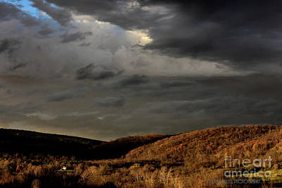 Photograph - Storm Over The Piedmont by Kathy Russell