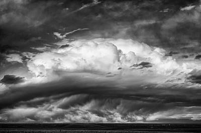 Photograph - Storm Over The San Luis Valley by John Brink