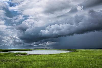 Photograph - Storm Over The Newport River by Jody Merritt