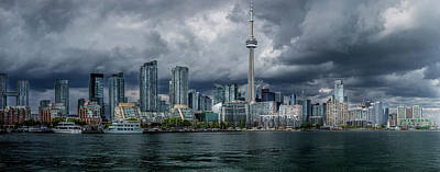 Photograph - Storm Over Toronto by Miles Whittingham