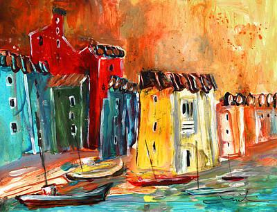 Painting - Storm Over Villajoyosa by Miki De Goodaboom