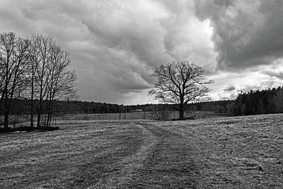 Photograph - Storm Over Wachusett Meadow Wildlife Sanctuary 3 by Michael Saunders
