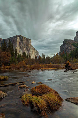 Photograph - Storm Over Yosemite Valley by Jonathan Nguyen