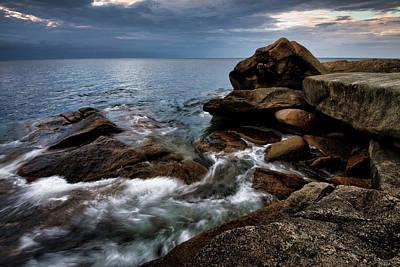 Photograph - Storm Pass Halibut Pt. by Michael Hubley