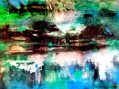 Painting - Storm Reflections by Nikki Dalton