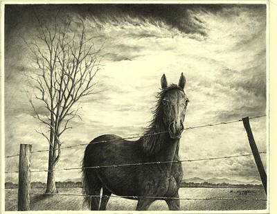 Storm Art Print by Richard Klingbeil