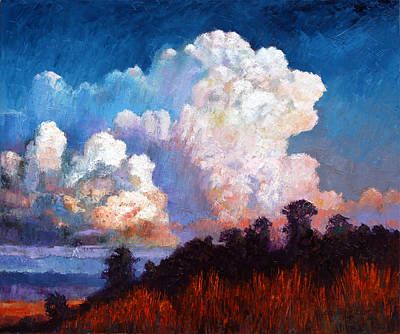 Painting - Storm Rolling In by John Lautermilch