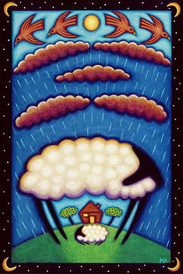 Comfort Painting - Storm Shelter by Mary Anne Nagy