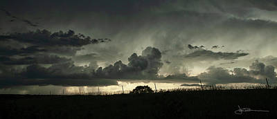 Photograph - Storm Silhouette by Jim Bunstock