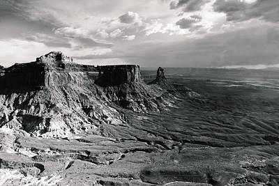 Photograph - Storm Sky Over Canyonlands by Roupen  Baker