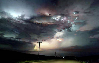 Photograph - Storm Stacking by Susan Maxwell Schmidt