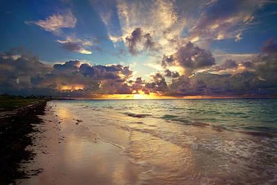 Photograph - Storm Sunrise by Shannon Millsaps