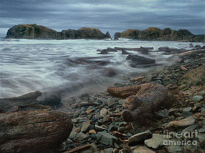 Photograph - Storm Surf Bandon Beach Oregon by Dave Welling