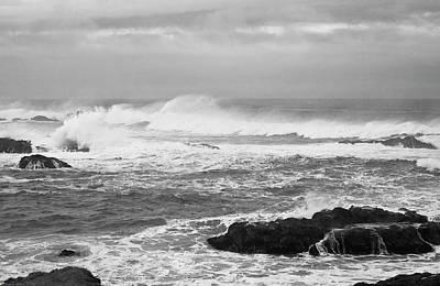 Photograph - Storm Surf Off Mendocino by Lorraine Devon Wilke