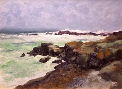 Painting - Storm Surge by David Rodman Johnson