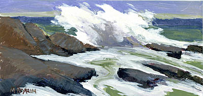 Painting - Storm Surge by Mary Byrom