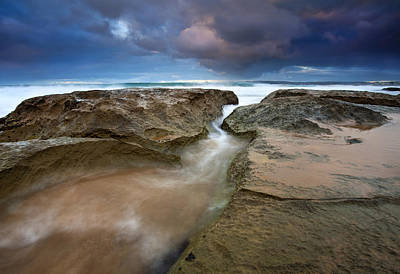 Knights Beach Photograph - Storm Surge by Mike  Dawson