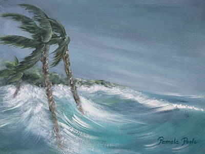 Painting - Storm Surge by Pamela Poole