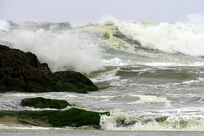 Photograph - Storm Swell by Frank Townsley