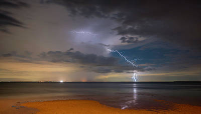 Striking Photograph - Storm Tension by Marvin Spates