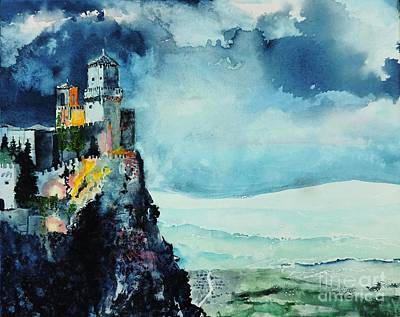 Painting - Storm The Castle by Tom Riggs