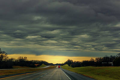 Photograph - Storm Truckin' by Robert FERD Frank