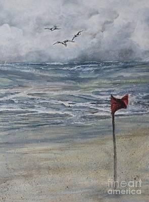 Storm Warning Original by Anne Buffington