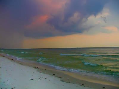 Storm Digital Art - Storm Warning by Bill Cannon