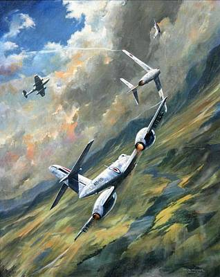 Painting - 'storm Warning' by Colin Parker