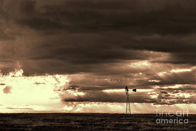 Photograph - Storm Warning by Jim Garrison