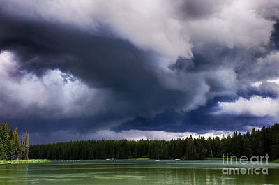 Photograph - Storm Watch 5 by Bob Christopher
