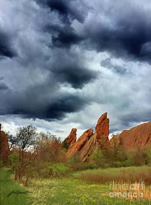 Photograph - Storm Watch by Jim Fillpot