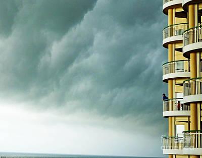 Photograph - Storm Watchers At Perdido Key Fl by Lizi Beard-Ward