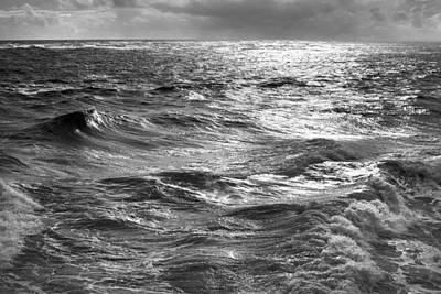 Storm Waters Print by Sean Davey