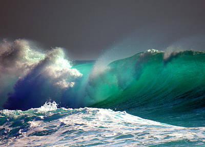 Photograph - Storm Wave by Lori Seaman