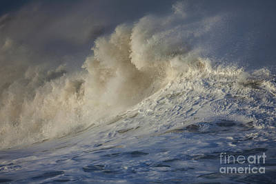 Photograph - Storm Waves by Mark Alder