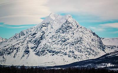 Photograph - Stormheimfjellet Mountain Tromso Norway by Adam Rainoff