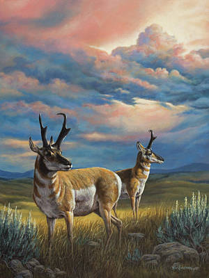 Painting - Storm's A Brewin by Kim Lockman