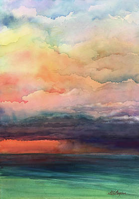 Painting - Storm's A Brewin' by Maryann Boysen