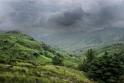 Langdale Photograph - Storms A Coming by Martin Newman