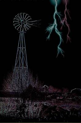 Storms Along The Rylander Spread Art Print by The Stone Age