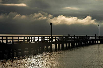 Bruster Photograph - Storms Brewin' by Clayton Bruster